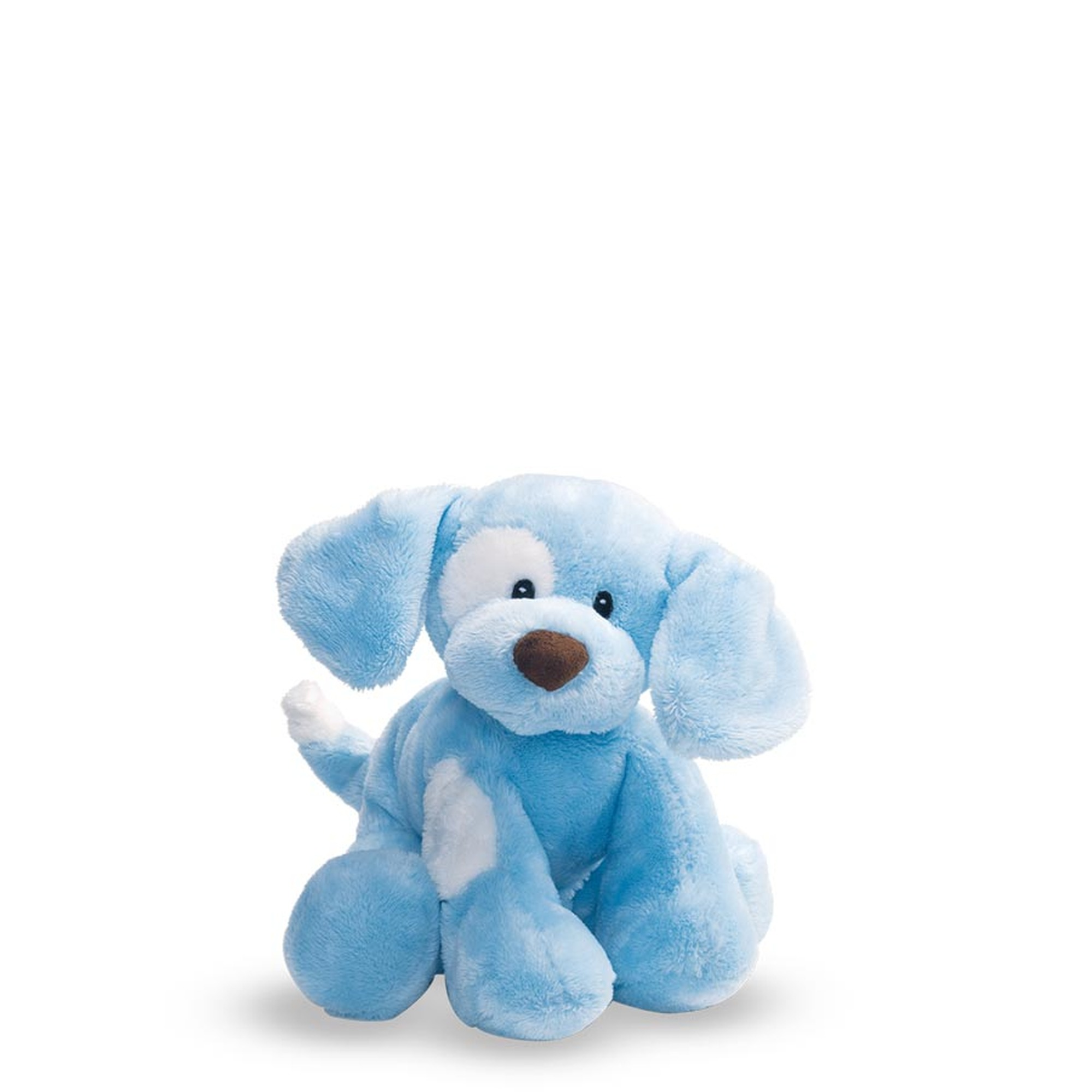 sensory dog toy blue