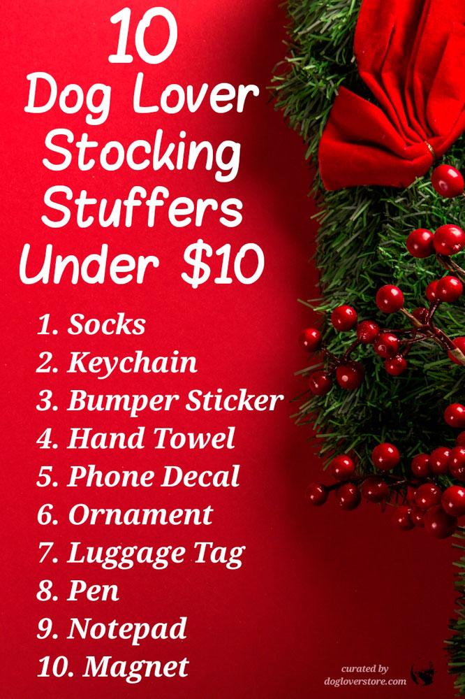 10 Dog Lover Stocking Stuffer Gifts for 2018