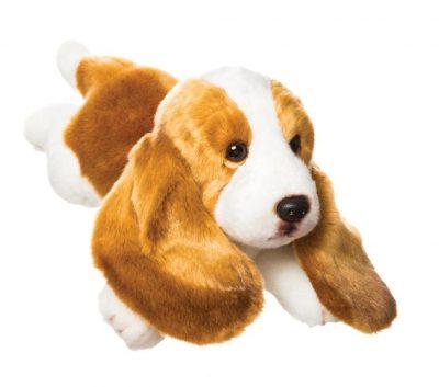 12 inch Basset Hound Stuffed Animal