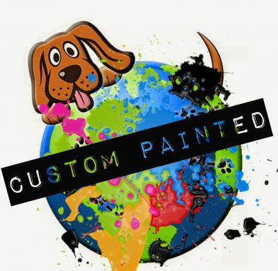 Custom Painted Dog Figurines