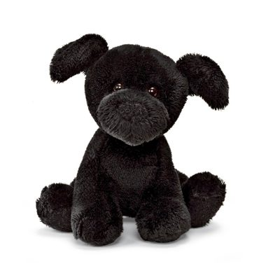 black-lab-barking-mini-dog