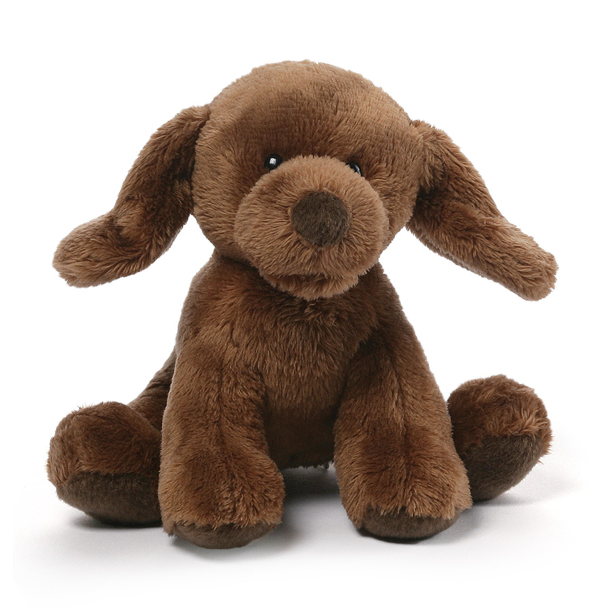 Chocolate Lab Mini Plush Barking Dog