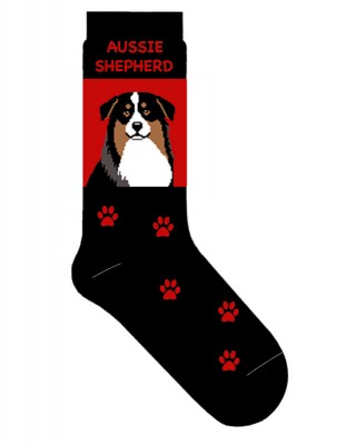 Australian Shepherd Dog Breed Socks