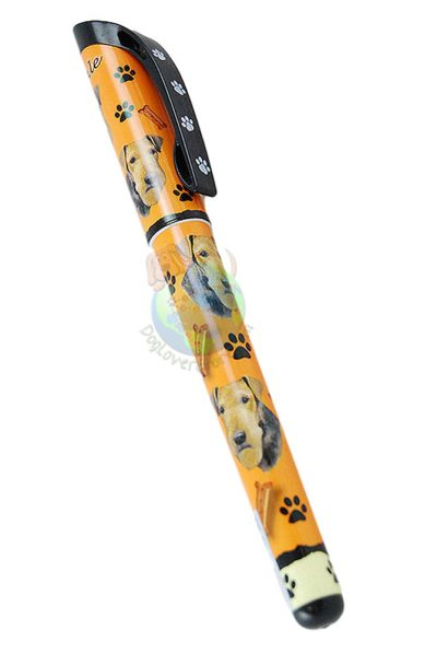 Airedale Writing Pen Orange in Color