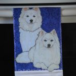 American Eskimo Kitchen Hand Towel 2