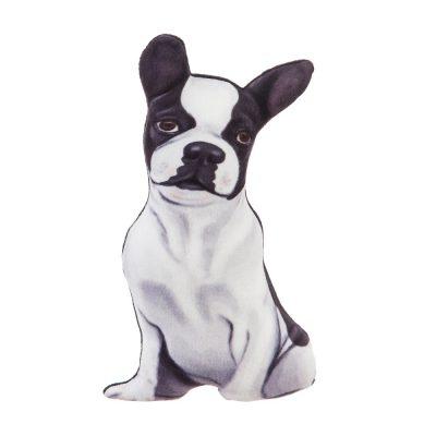 Boston Terrier Shaped Pillow