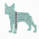 Characteristic Dog Breed Stickers