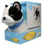 Boston Terrier Electronic Stuffed Animal