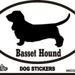 Basset Hound Sticker – Euro Bumper Sticker