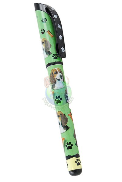 Beagle Writing Pen Green in Color