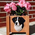 Bernese Mountain Dog Planter Flower Pot 1