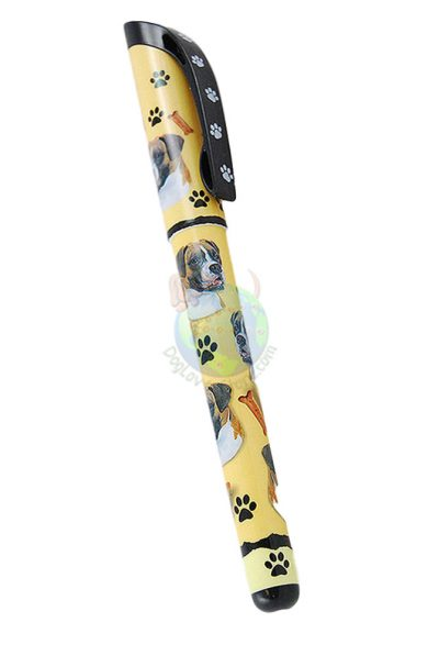 Boxer Uncropped Writing Pen Yellow in Color