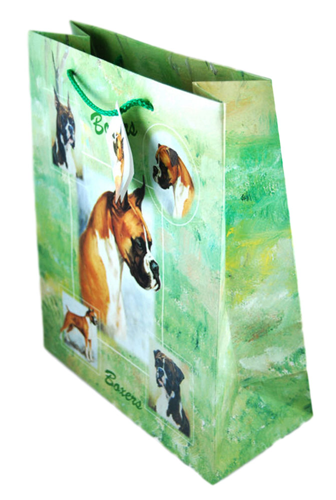 Boxer Dog Gift Bag