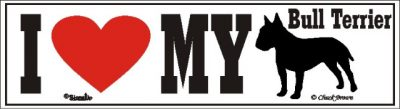 Bull Terrier_dog_love_bumper_sticker