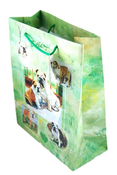 Bulldog Gift Bag