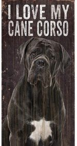 Cane Corso Love Sign
