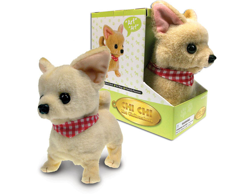 Electronic Chihuahua Dog Stuffed Animal