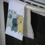Cairn Terrier Kitchen Hand Towel 1