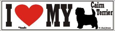 Cairn Terrier_dog_love_bumper_sticker