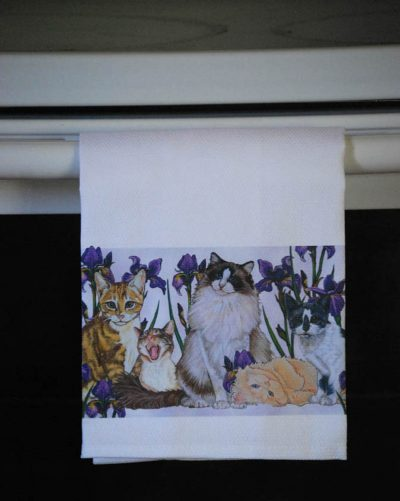 Cats Kitchen Hand Towel 2