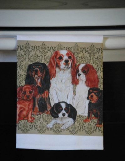 Cavalier King Charles Kitchen Hand Towel