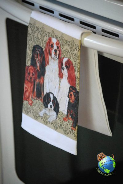 Cavalier King Charles Kitchen Hand Towel 1
