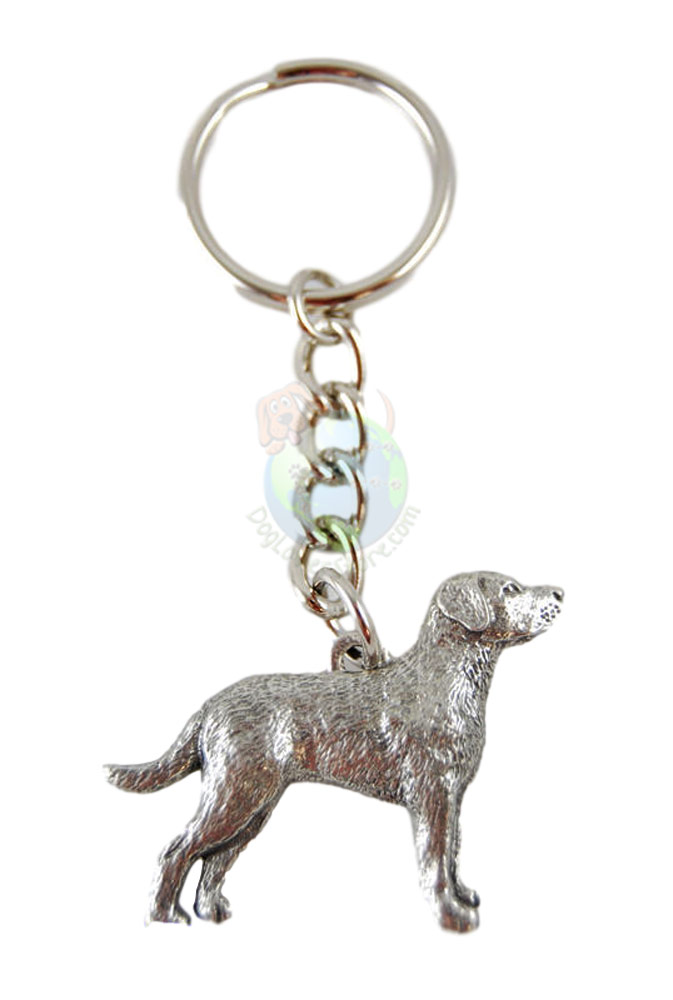 Chesapeake Bay Retriever Pewter Keychain