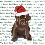 Chocolate_lab_puppy_christmas_dog_coasters