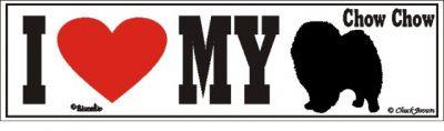 Chow Chow_dog_love_bumper_sticker
