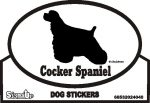 Cocker Spaniel Bumper Sticker