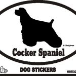 Cocker Spaniel Bumper Sticker