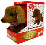 Electronic Dachshund Dog Stuffed Animal