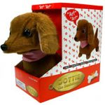 Electronic Dachshund Dog Stuffed Animal