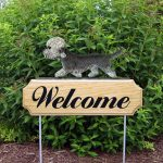 Dandie Dinmont Welcome Sign pepper