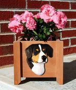 Entlebucher Planter Flower Pot