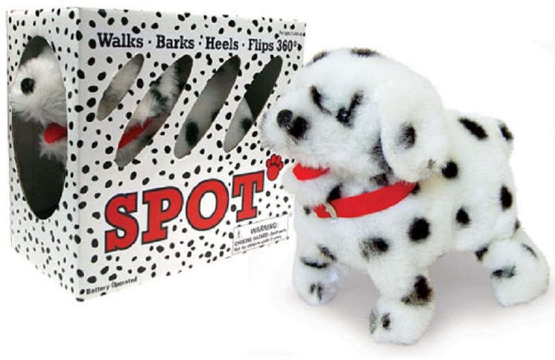 Dalmatian Flipping Dog Stuffed Animal