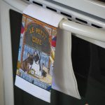 French Bulldog Kitchen Hand Towel 1