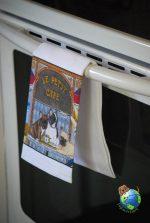 French Bulldog Kitchen Hand Towel