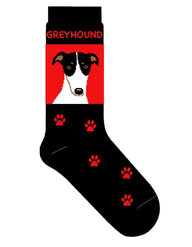Greyhound Dog Breed Socks