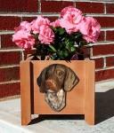 German Shorthair Planter Flower Pot Standard