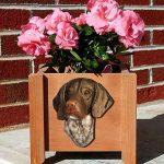 German Shorthair Planter Flower Pot Standard 1