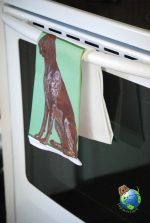 German Shorthair Pointer Kitchen Hand Towel