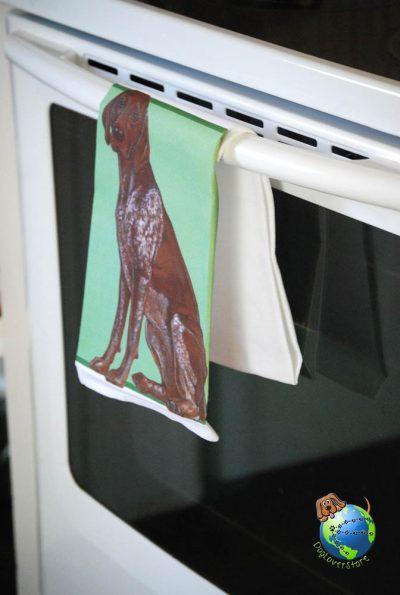 German Shorthair Pointer Kitchen Hand Towel 1