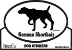 German Shorthair Pointer Bumper Sticker