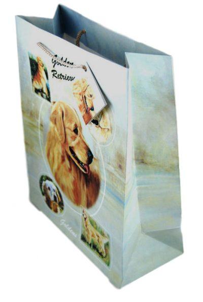 Golden Retriever Gift Bag