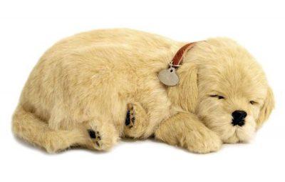 Golden Retriever Perfect Petzzz Breathing Dog
