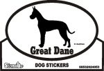 Great Dane Bumper Sticker