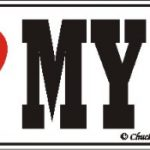 I Love My Keeshond Dog Bumper Sticker 1