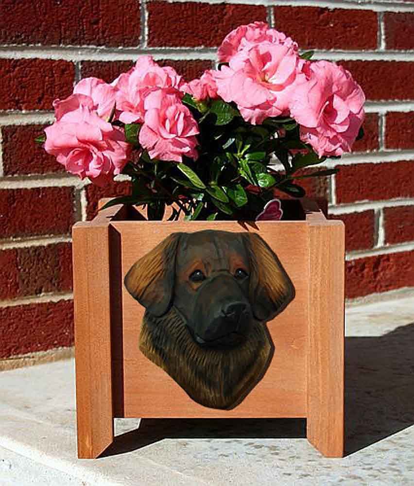 Leonberger Planter Flower Pot