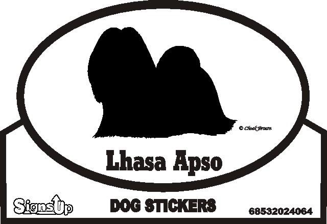 Lhasa Apso Bumper Sticker